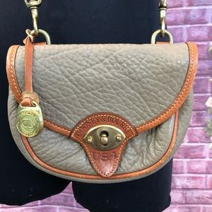 Dooney & Bourke Small Calvary Trooper Beige Bag